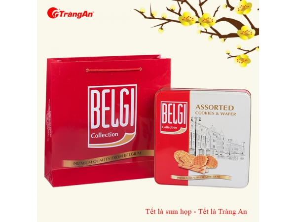 HỘP THIẾC BELGI COLLECTION